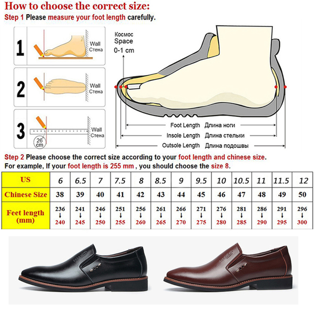 Leather Office Dress Shoes 10
