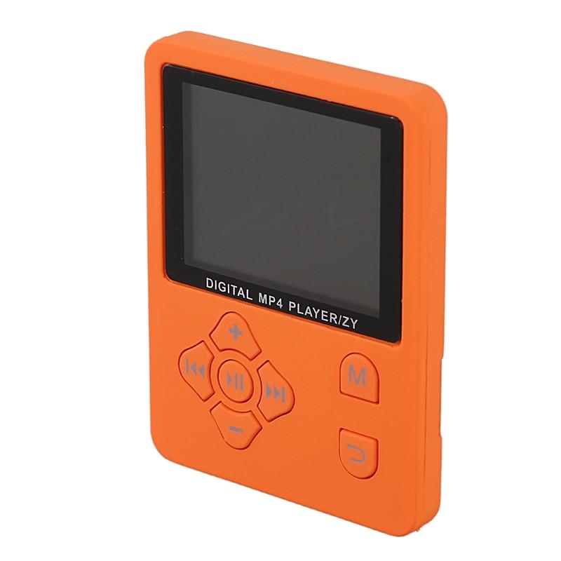 1.8 Inch Lcd Screen Mp3 Mp4 Player Support Up To 32Gb Tf Memory Card Hi Fi Fm Radio Mini Usb Music Player Walkman