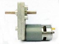 New 775 double shaft DC deceleration motor / big torque output, multi speed 6v12v24v motor