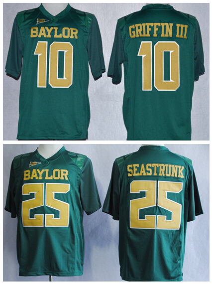 new products 462a1 f331d Baylor 10 Robert Griffin III College Jerseys American ...