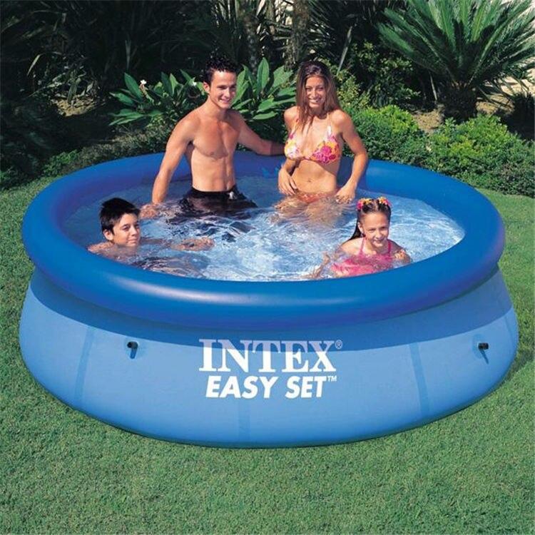Kingtoy maison jardin enfants piscine gonflable adultes et enfant PVC piscine d'eau 1-10 personne été jouet de plein air