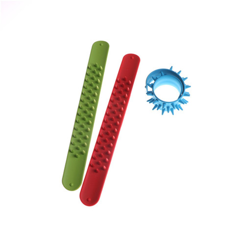 Spike Fidget Bracelet Anti Stress Toy Kids Party Favor Sensory Toy Spiky Slap Bracelet A ...