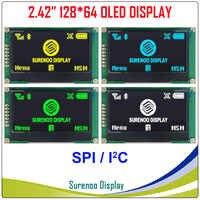 """Pantalla OLED Real, 2,42 """"128*64 12864 SPI I2C/IIC módulo gráfico LCD pantalla LCM pantalla SSD1309 controlador"""