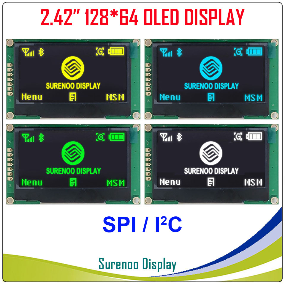 Real OLED Display, 2.42