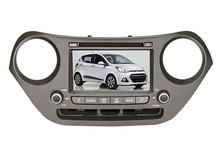 Quad core android 7.1.1 dvd-плеер автомобиля GPS NAVI Стерео 3 г/Wi-Fi Бесплатная карта для Hyundai Grand i10 2013 2014 2015 право