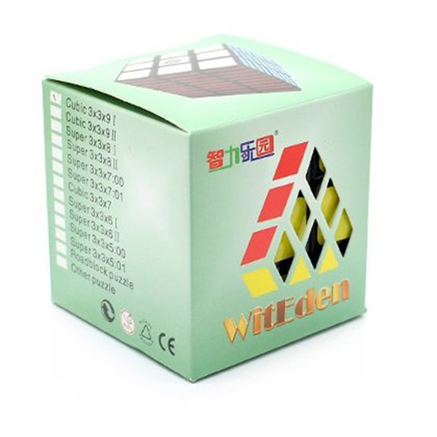 leadingstar witeden 3x3x9 cubo magico profissional 58mm