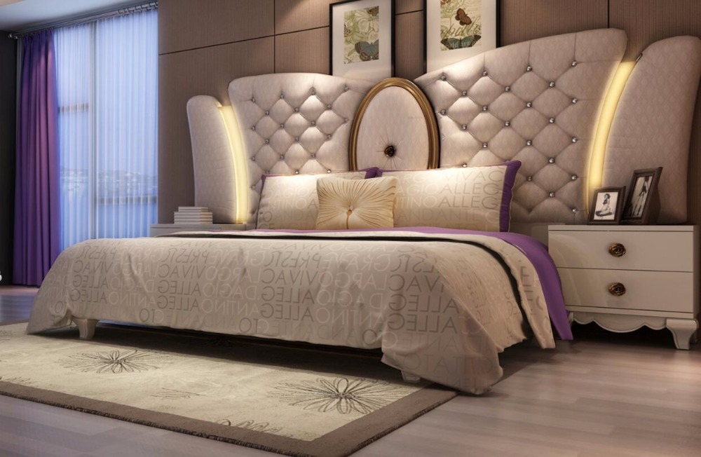 2018 New Nightstand De Maquillage Arab Style Fashional Bedroom Set