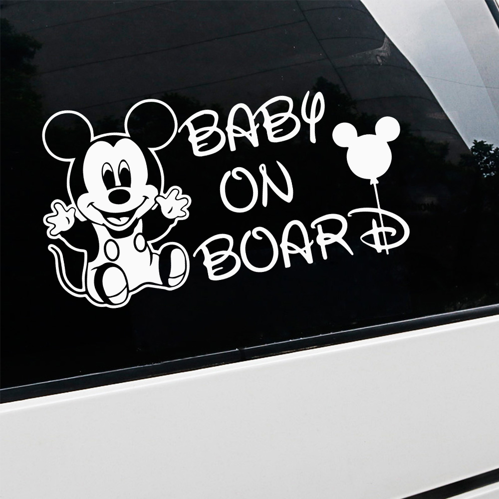 NEW Baby On Board Car Decal Decal Decor Mural Vinyl Covers