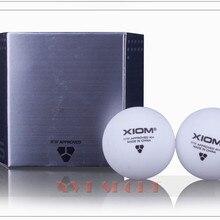 Высокое качество XIOM 3 звезды 40+ поли бесшовный мяч для настольного тенниса/шарики для пинг понга в 6 шт./упак