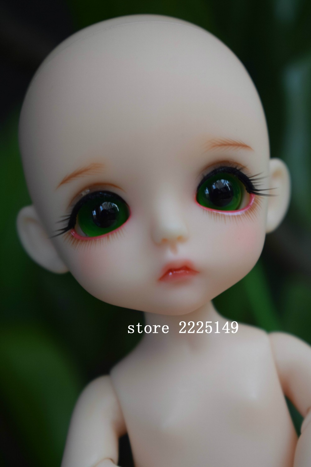 Free Shipping BJD joint RBL 381J DIY Nude Blyth doll birthday gift for girl 4 colour