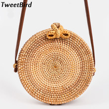 001753deec14 TweetBird 2018 New Women Straw Bag Messenger Beach Bags Woman Handbag  Rattan Bag Handmade Woven Female Fashion beach Handbags