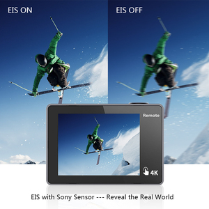 Image 5 - EKEN H5S Plus Action Camera HD 4K 30fps EIS with Ambarella A12 chip inside 30m waterproof 2.0 touch Screen  sport camera