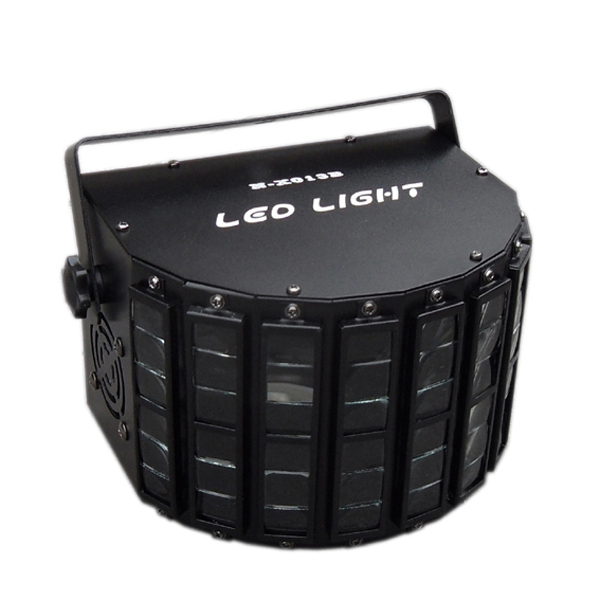 25W RGB LED Light 8 Channels DMX512 Control Lighting Laser Projector Stage Party Show Disco Stage Light Free Shipping(By EMS)