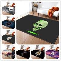 Terror Print Carpets for Living Room Bedroom Decor Carpet Baby Play Crawl Game Large Area Rug Bathroom Non slip Floor Mat/Rugs