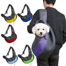 77d6a1597a3 Pet Puppy Carrier Outdoor Travel Handbag Pouch Mesh Oxford Single Shoulder  Bag Sling Mesh Comfort Tote Shoulder Bag Backpack