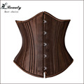26 Double Steel Boned Corset Heavy Duty Waist Trainer Corsets And Bustiers Women Body Shaper Tummy Control Corselet korsett-0