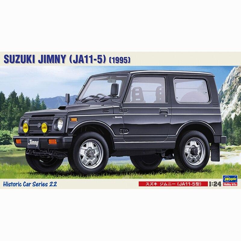 1 24 Hasegawa 21122 SUZUKI JIMNY JA11 5 1995 model hobby