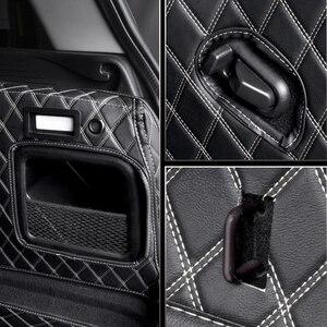 Image 3 - سيارة جذع سطح حماية وسادة من الجلد اكسسوارات السيارات التصميم لسيارات BMW MINI ONE equs JCW F54 F55 F56 F60 R60 كلوبمان كونتري مان