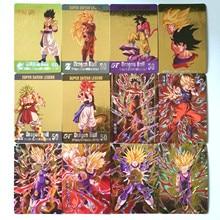 Горячая штамповка Dragon Ball Z Instinct Goku Vegeta Супер Герои битва карточная игра Коллекция аниме-открытки