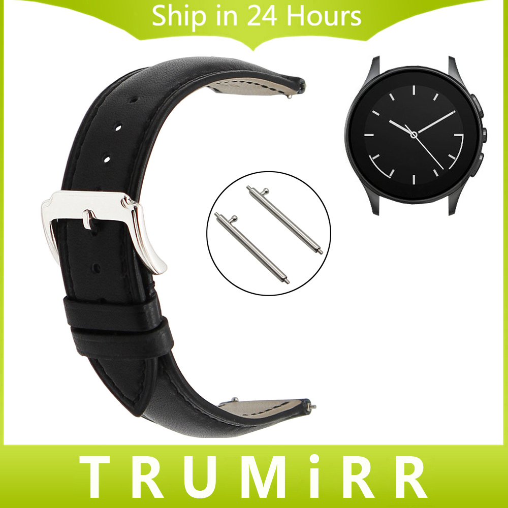 22mm Quick Release Watchband for Vector Luna Meridian Smart Watch Band 1st Layer Genuine Leather Strap Full Grain Wrist Bracelet 18mm genuine leather watchband for withings activite steel pop smart watch band wrist strap plain grain belt bracelet tool