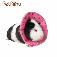 Petforu Adjustable Mini Pet Elizabeth Collar