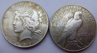 90% silver Date 1927 S peace Dollars copy coins High Quality