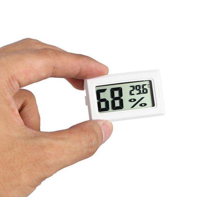 Monitor de humedad hogar Mini temperatura higrómetro Digital LCD termómetro Termometro medidor de temperatura Digital Termometr