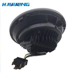 Image 5 - 2pcs For Wrangler JK 2 Door 2 Hummer H1 H2 7inch LED Headlights For Lada 4x4 urban Niva 2007~2016 For Suzuki Samurai