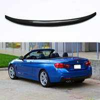 Performance Style Carbon Fiber Rear Trunk Spoiler For BMW F33 Convertible 4 Series 2014~2016