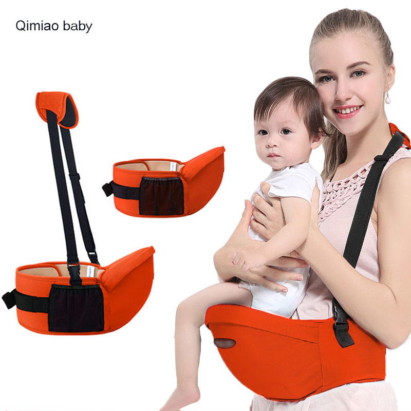 Anti-slip Ergonomic Baby Carrier 0-30 Months Infant Cotton Waist Stool Breathable Soft Backpack Pouch Multipurpose Baby Hipseat