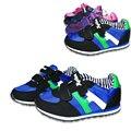 NEW Super calidad 1 par de Bebé Zapatillas de deporte de Marca de la Muchacha/Zapatos de Niño Suave, Niños/cabrito Zapatos Al Aire Libre