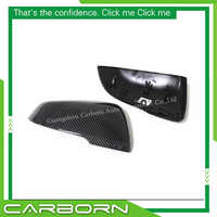 For BMW F52 F45 F46 F48 F49 F39 OEM Replacement Style Carbon Fiber Body Side Rear View Mirror Cover- no logo