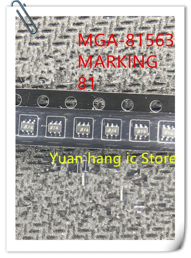 10pcs/lot MGA-81563-TR1G MGA-81563 MGA81563 MARKING 81 SOT-363