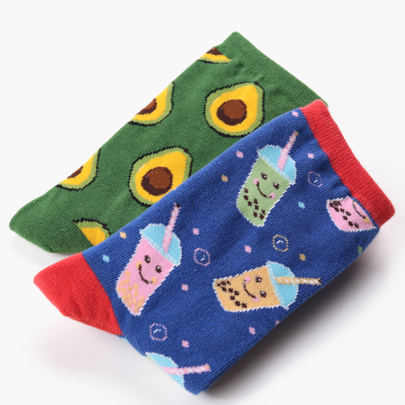 ╧Hot DealsMatch-Up Cotton Socks Different Wine Styles Funny Women's Cartoon Red 10-Pairs/Lot Bannerû