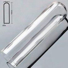 Artificial Hollow Pyrex Glass Penis Dildo