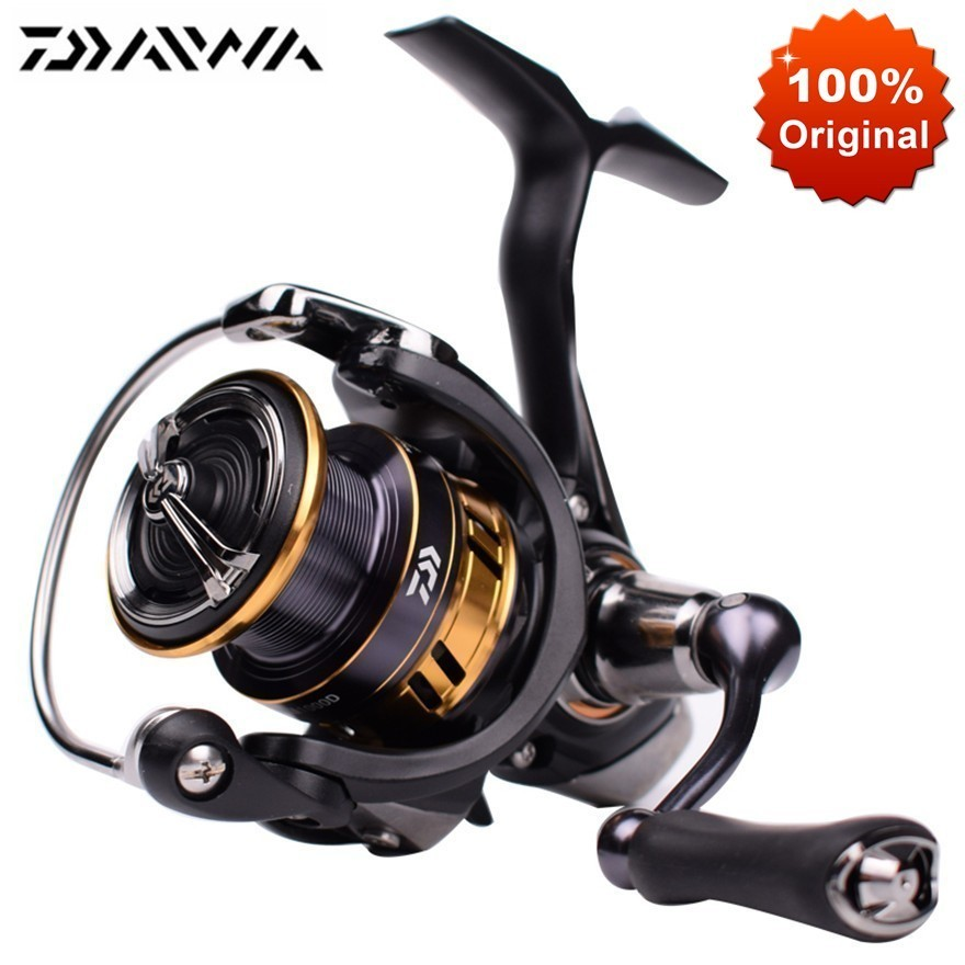 Original DAIWA LEGALIS LT Saltwater Spinning Fishing Reel 1000 2000 3000 6000 Ultralight Crap Fishing Spinning