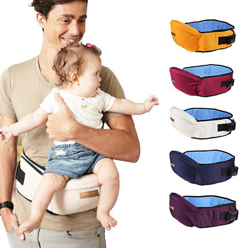 Safe Baby Carrier Waist Stool Walkers Newborn Baby Sling Hold Waist Belt Backpack Hipseat Belt Kids Infant Hip Seat Accessories