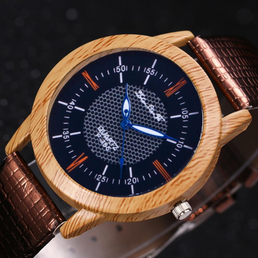 Relogio Masculino Watch Mens Natural Wood Bamboo Watches Womens Vintage Wooden Watch Luxury Brand Business Quartz Wristwatches