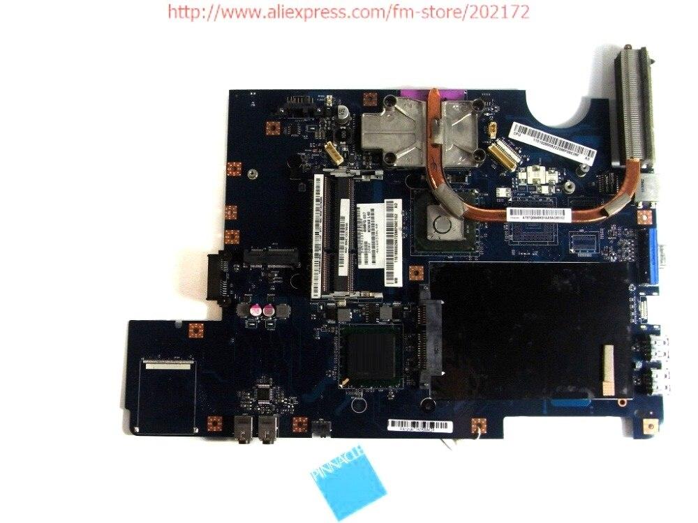 168002997 Motherboard für Lenovo G550 LA-5082P mit kühlkörper statt G555 LA-5972P 100% kompatibel und eine kostenlose CPU