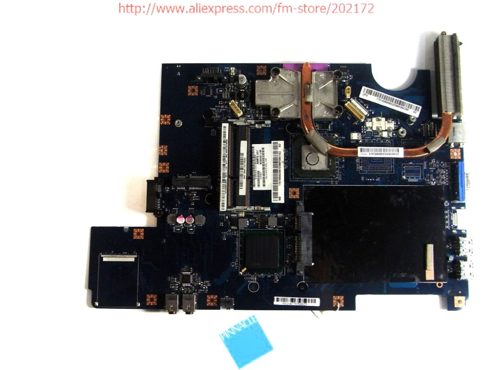 168002997 Motherboard for Lenovo G550 LA-5082P with heatsink instead G555 LA-5972P 100% compatible and a free CPU laptop motherboard la 5972p suitable for lenovo g555 notebook motherboard 100% tested ok cpu free