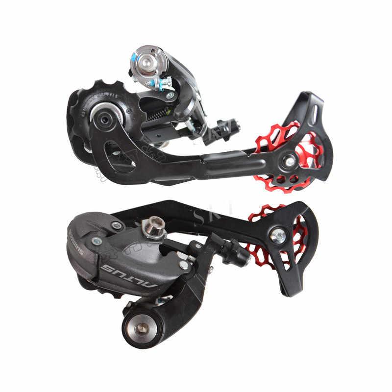 2ピースmeijun mtbロードバイクセラミックプーリー7005アルミ合金リアディレイラー11 t 13 tガイドサイクリングセラミックス軸受ジョッキーホイール