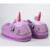 Presentes de Páscoa feliz Inverno Recheado Chinelos Home Indoor Chinelos de Casal Sapatos de Pelúcia Macia Dos Desenhos Animados do Unicórnio para As Mulheres Crianças