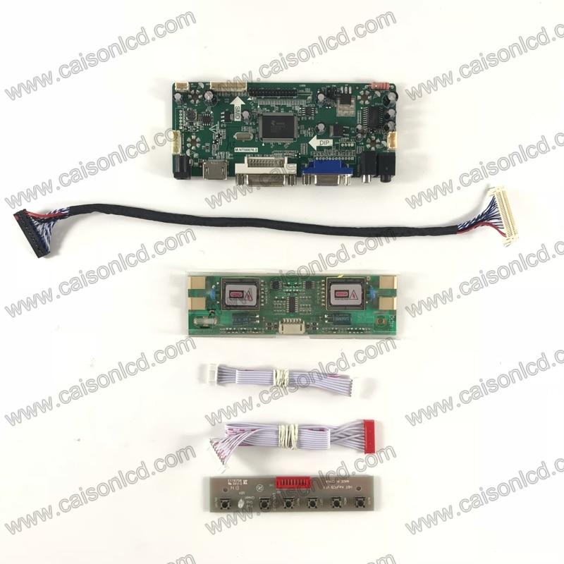 все цены на LCD controller board support HDMI DVI VGA AUDIO for 19 inch LCD panel 1440X900 LTM190M2-L31 L01 M190MWW3 R0  M190PW01 V3 V0 онлайн