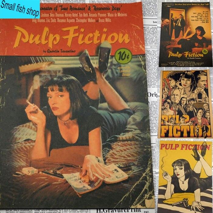 pulp-fiction-quentin-font-b-tarantino-b-font-uma-thurman-retro-cinema-home-furnishing-decoration-kraft-movie-poster-drawing-core-wall-stickers
