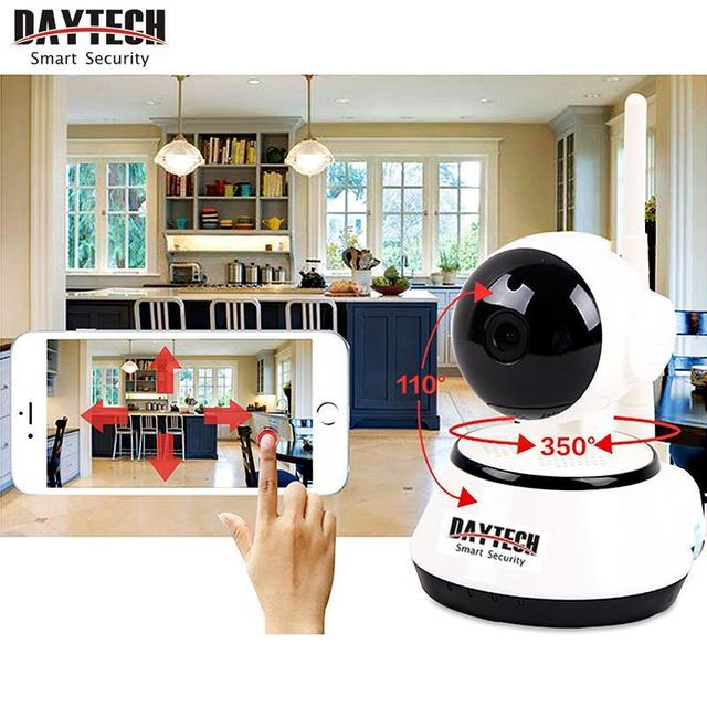 Daytech Home Security IP Camera Wireless WiFi Camera Surveillance Camera 720P Night Vision CCTV Camera Baby Monitor DT-C8815