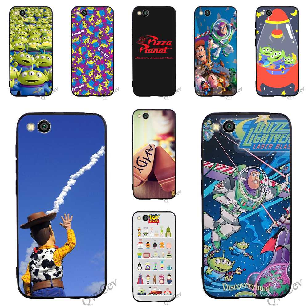 Lovely Print Toy Story Pizza Planet Phone Cover For Xiaomi Mi 6 Case A1 A2 Lite 8 F1 Silicone Covers Skin Goods Of Every Description Are Available Cellphones & Telecommunications Phone Bags & Cases