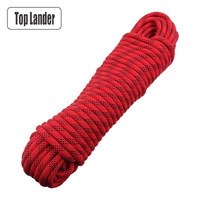 Outdoor Safety Rope 12mm Diameter Tree Wall Rock Climbing Rope Professional Climbing Equipment Gear Hiking High Strength Rope