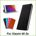 Case For Xiaomi Mi5s Mi 5S Mofi Brand Ultra-Thin Book Flip Leather Case For Xiaomi Mi5s Mi 5S Stand Case
