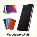 Case para xiaomi mi 5S mi5s mofi marca ultra-delgado funda de cuero flip book case para xiaomi mi 5S mi5s stand case