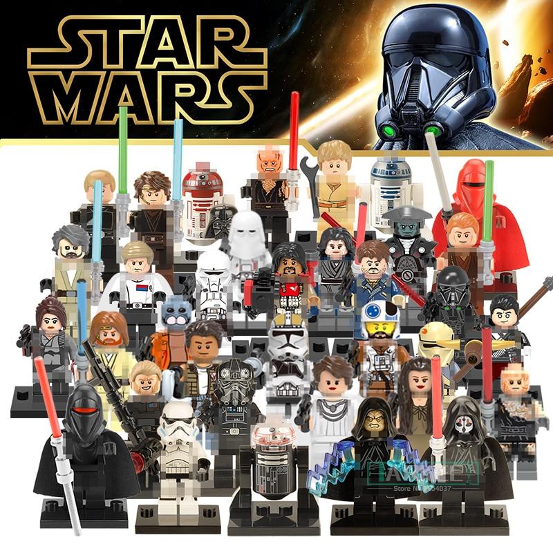 Xinh Star Wars Single Building Blocks Palpatine Robot Darth Vader Luke  Death Trooper Bricks Child Kid Toys Hobbies Gift Figures